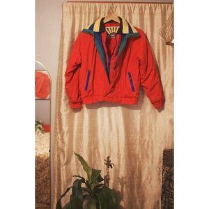 VTG Colorblock Puffer Coat